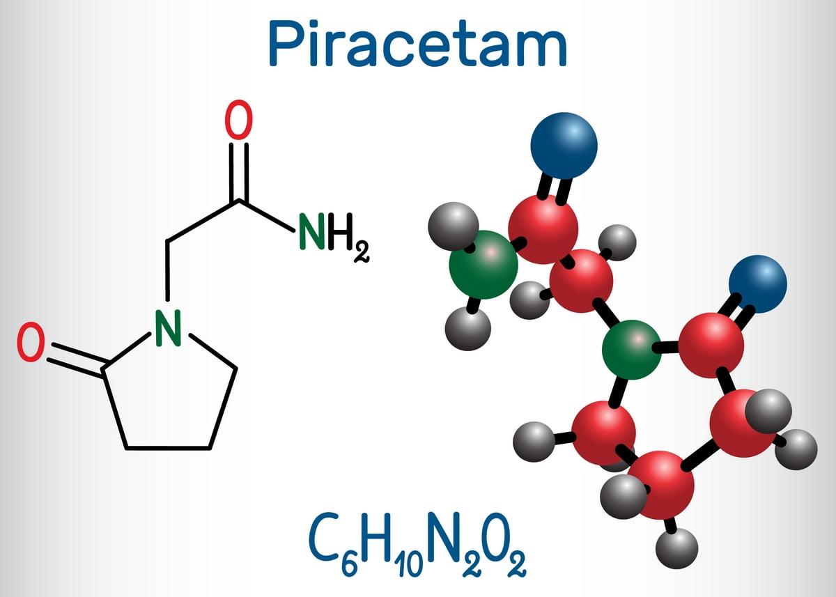 piracetam - nootropil
