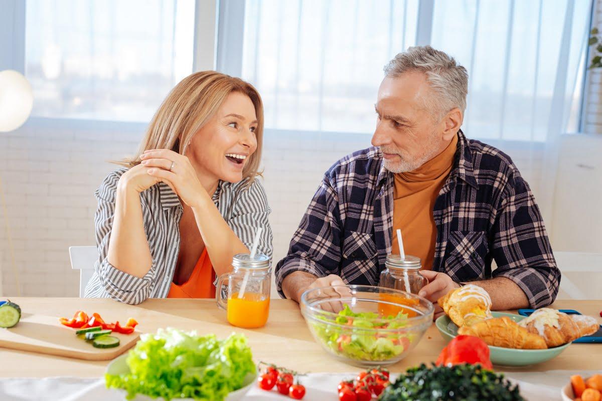 invecchiamento e alimentazione